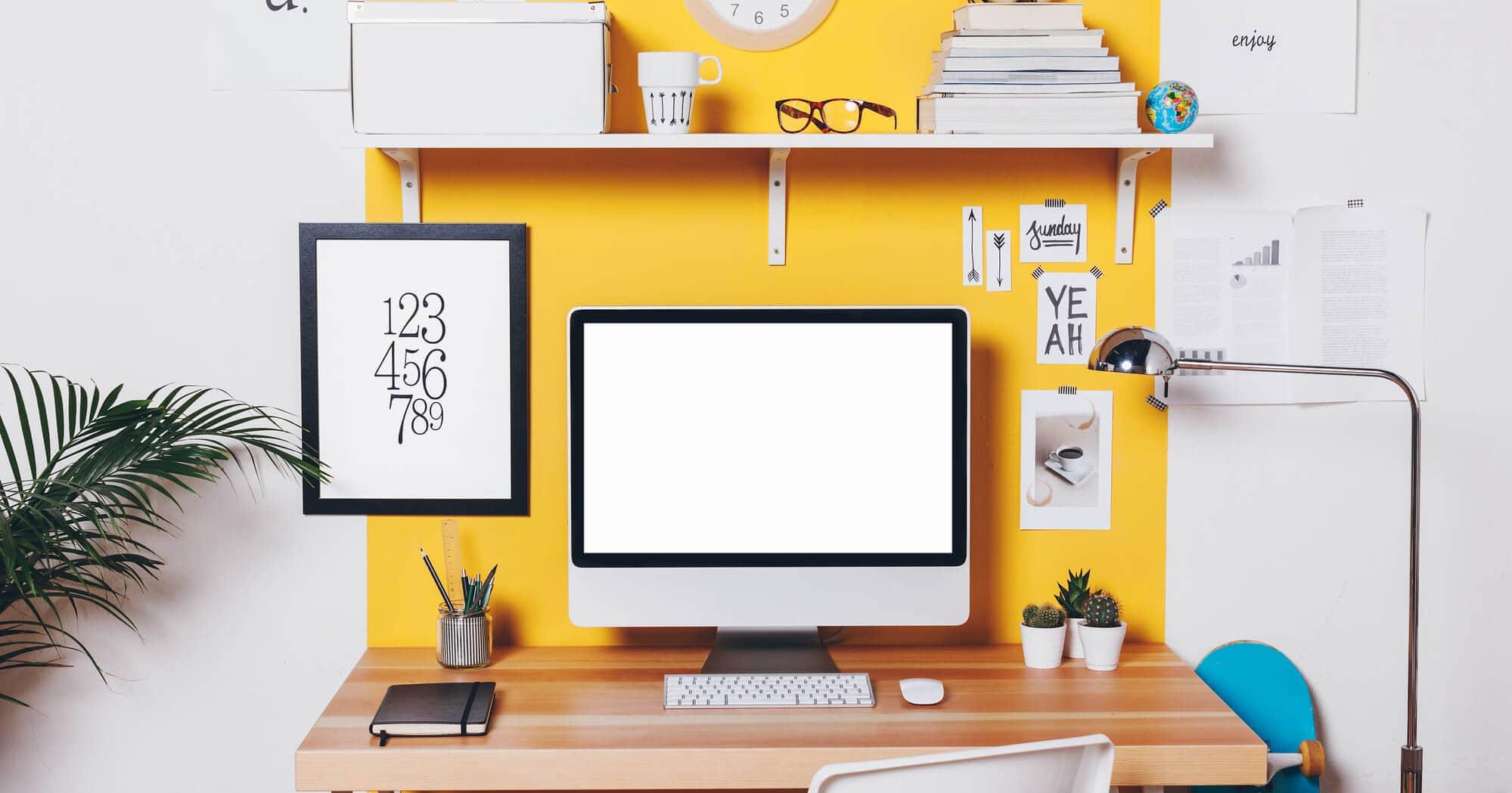 Aprenda a Dar o Seu Toque Especial na Decoração de HOME OFFICE